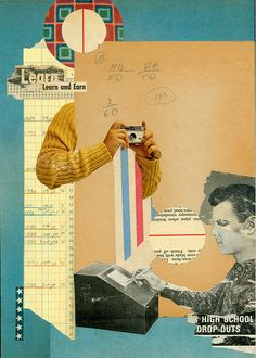 Bill Zindel Collages