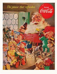 Santa's Workshop and Coca Cola