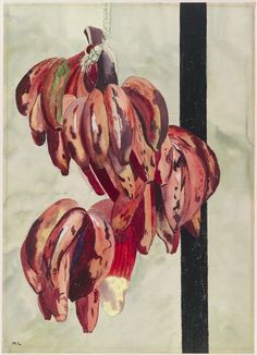 Margaret Laighton, Red Bananas, 20th century, Harvard Art Museums/Fogg Museum.