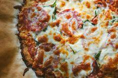 How To Make An Awesome Cauliflower Crust Pizza! | soletshangout.com   #grainfree #glutenfree #primal #paleoish