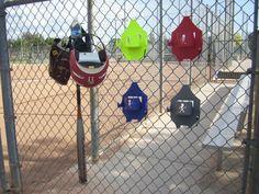 Softball Baseball Dugout Organizer Sports Equipment holder