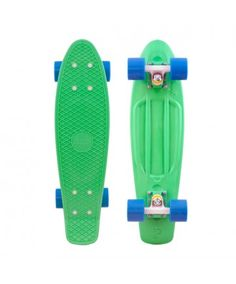Organic Penny Board, Green and Blue LOVE