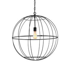Young House Love Large Wire Globe Lantern - 7 Colors!