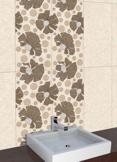 New Digital Tiles for Bathroom - http://www.orientbell.com/bathroom-tiles.php