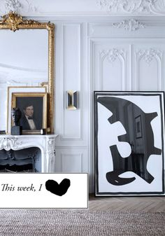 Mirror Images we like (NB. not a product of Chichi Furniture)