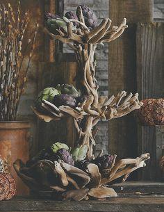 Drift wood sculptural piece