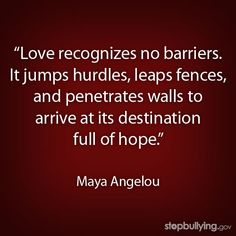 As we honor the legacy of Dr. Maya Angelou, share this important message about love and resilience.         #love  #mayaangelou         #bullying         #inspiration         #lgbt         #lovequotes         #mayaangelouquote