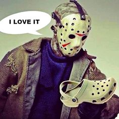 Jason Voorhees (Friday the 13th) gets Crocs