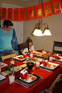 Occasion chinese new year on pinterest chinese new - Chinese dinner party ideas ...