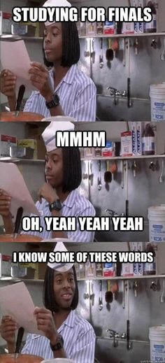 Final exam studying