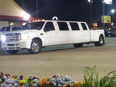 Redneck Prom limo truck!!
