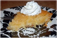 crustless coconut pie...delish and easy