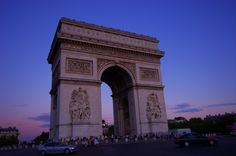 Arc de triomphe de l'Etoile (photo) by 244.n's on PHOTOHITO