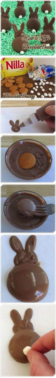 How to Make Chocolate Bunny