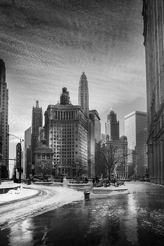 CHICAGO IN WINTER by Jean Michel Berts on 500px