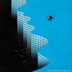 Illusion & Surrealism by Tang Yau Hoong, via Behance