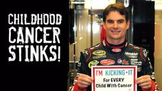 ARTICLE (June 13, 2012): Jeff Gordon Children's Foundation aims to kick cancer out of every childhood. Read more: http://www.hendrickmotorsports.com/news/article/2012/06/13/Jeff-Gordon-Childrens-Foundation-aims-to-kick-cancer-out-of-every-childhood#.