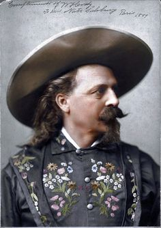 Buffalo Bill Paris 1889 Magnificent  man styling by Himself!