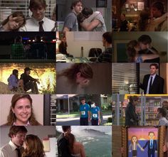 Jim and Pam, the office