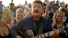 Joe Diffie's video for 'Girl Ridin' Shotgun' featuring Jawga Boyz