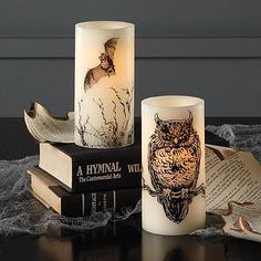 Battery Operated Halloween Candle