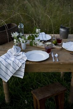 sweet outdoor dining
