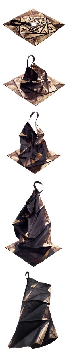 Japanese fashion #designer Issey Miyake has designed a range of #clothing that expand from two-dimensional #geometric shapes into structured shirts, skirts, pants and dresses.