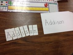 name or word puzzles - great for early or struggling readers