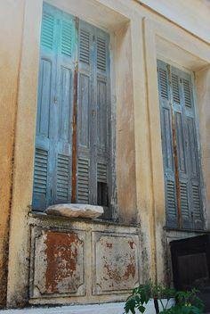 Samos... old blue door blue doors, ador door