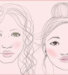 Be a blushing beauty and learn how to apply blush for your face shape.