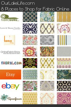 8 Places to Buy Fabric Online
