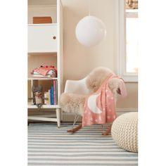 Petite Stripe Azure & Pearl Rug   Now on SALE