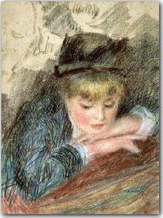 La Loge by Pierre-Auguste Renoir
