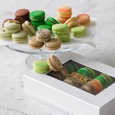 I love the French Macarons on Williams-Sonoma.com