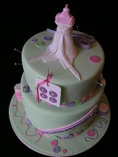 A sewing cake - for ruth