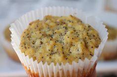 Flourless Lemon Poppyseed Muffins (Paleo)