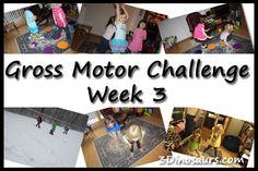 Gross Motor Challenge Week 3
