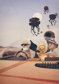 Fear and Loathing on Tatooine by Anton Marrast