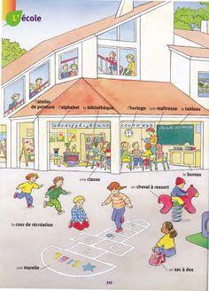 l'école . Larousse des Maternelles