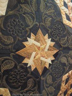 Close up, Roman Tiles by Ann L. Petersen. Best of Show, 2014 AZQG, photo by Quilt Inspiration