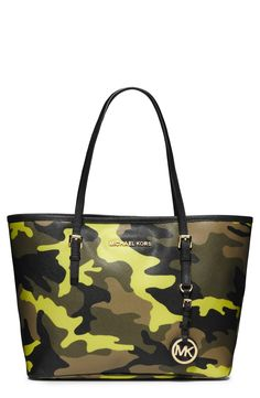 Yes please! Can't wait to sport this neon yellow Michael Kors tote next season.