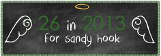 26 in 2013 for Sandy Hook- my amazing friend, who grew up in Newtown, Ct felt compelled to take action after the tragedy at Sandy Hook Elementary,follow her journey as she honors the lives that were lost, that December morning. ♥