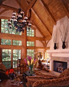 French Country-Style Timber-Frame Cottage.