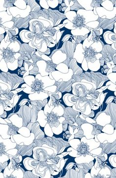 Navy and white - Elum - gift wrap, paper & gifts