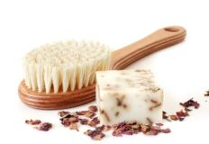 diy beauti, tighter skin, dri brush, loos skin, dry brushing, health well, brighter, eye, beauti health