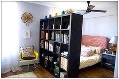 smaller, white/cream/gray? room divider