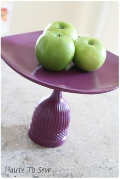 Cute DIY stand. :) parti stuff, craft, cakestand, cakefruit stand, dollar store, cake stands, diy dollar, parti stand, diy stand