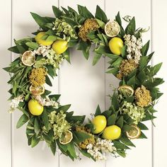 We'll be sharing new wreaths for spring soon - in the meantime, check out this yellow wreath!