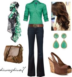 """Emerald City"" by disneydiva7 on Polyvore"