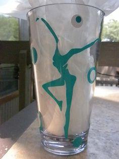DMB fire dancer pint glasses, Etsy, $15.00.  #dmb #davematthews #pint #glass #firedancer #etsy